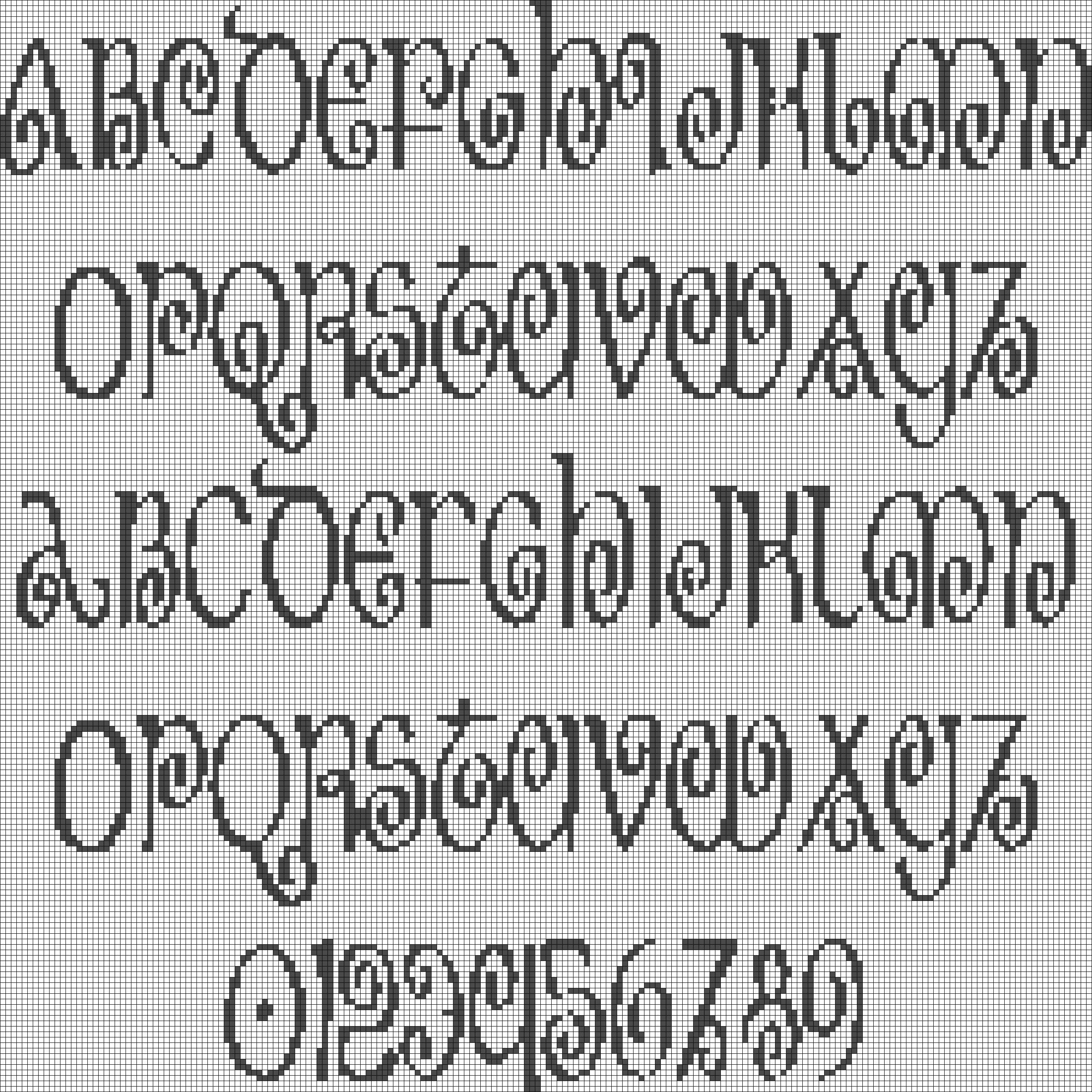 Alpha pattern #18068 preview
