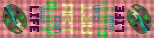 Alpha pattern #18071