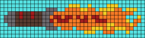 Alpha Friendship Bracelet Pattern #18081