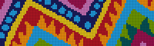 Alpha Friendship Bracelet Pattern #18082