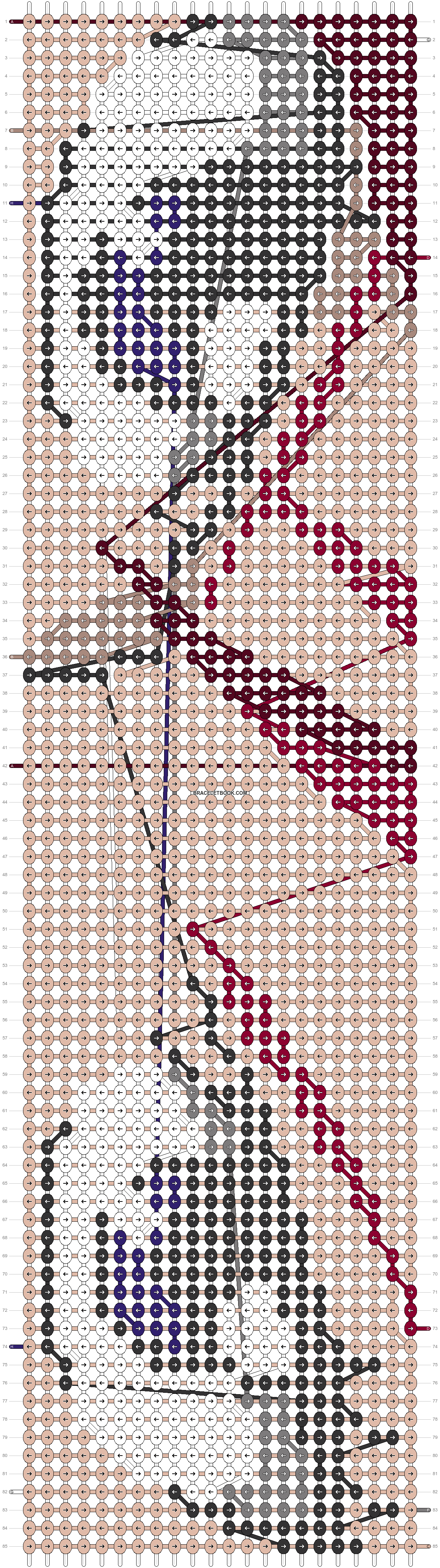 Alpha pattern #18088 pattern