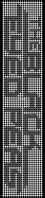 Alpha pattern #18089 pattern