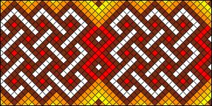 Normal Friendship Bracelet Pattern #18091