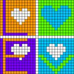 Alpha Friendship Bracelet Pattern #18092