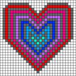 Alpha Friendship Bracelet Pattern #18093