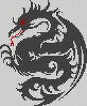 Alpha Friendship Bracelet Pattern #18099