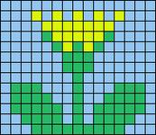 Alpha pattern #18106