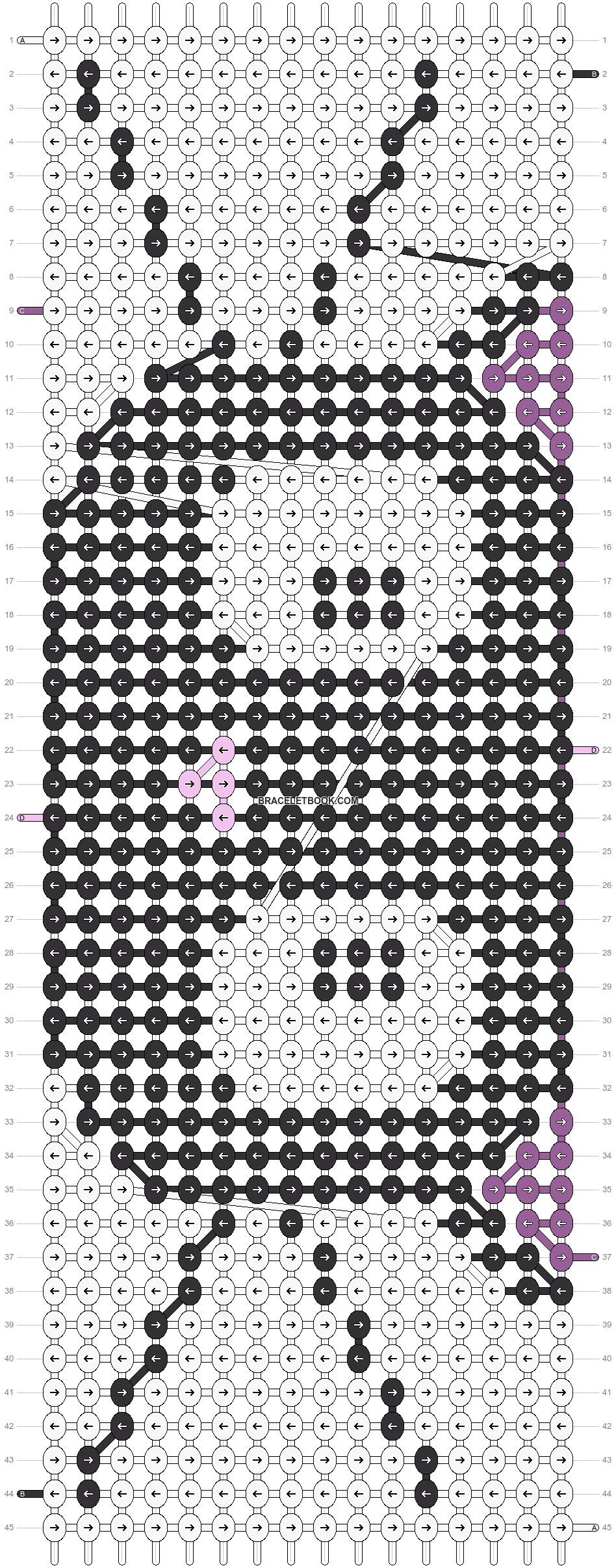 Alpha pattern #18110 pattern