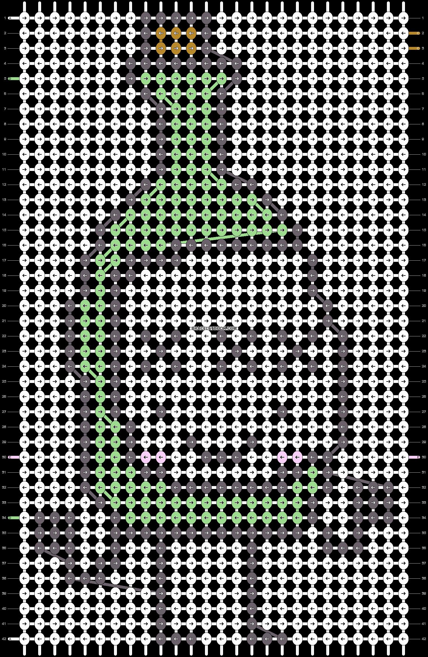 Alpha pattern #18112 pattern
