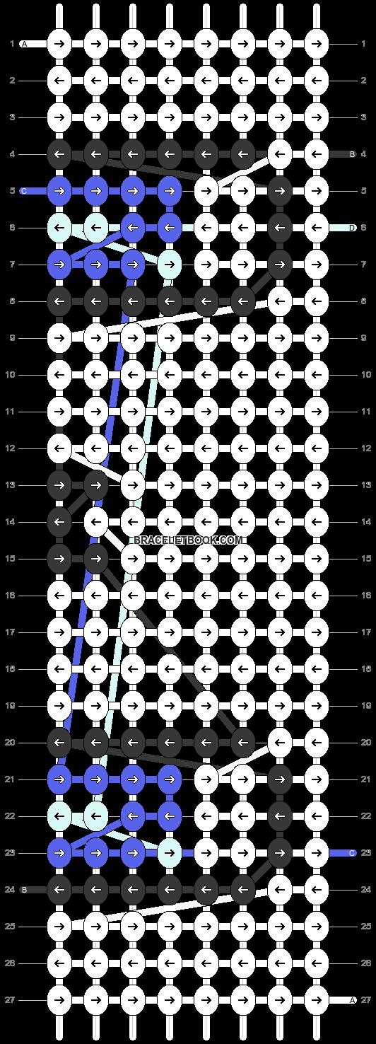 Alpha pattern #18116 pattern