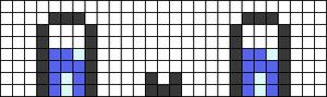 Alpha Friendship Bracelet Pattern #18116
