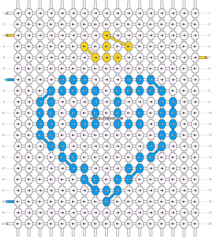 Alpha pattern #18119 pattern