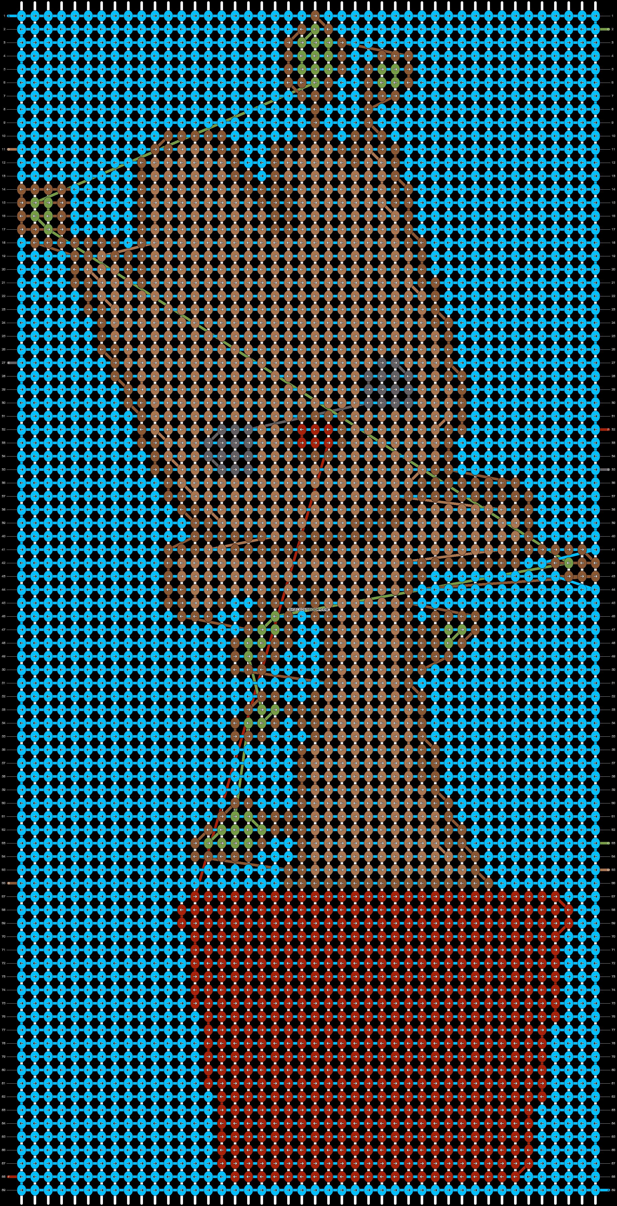 Alpha pattern #18120 pattern