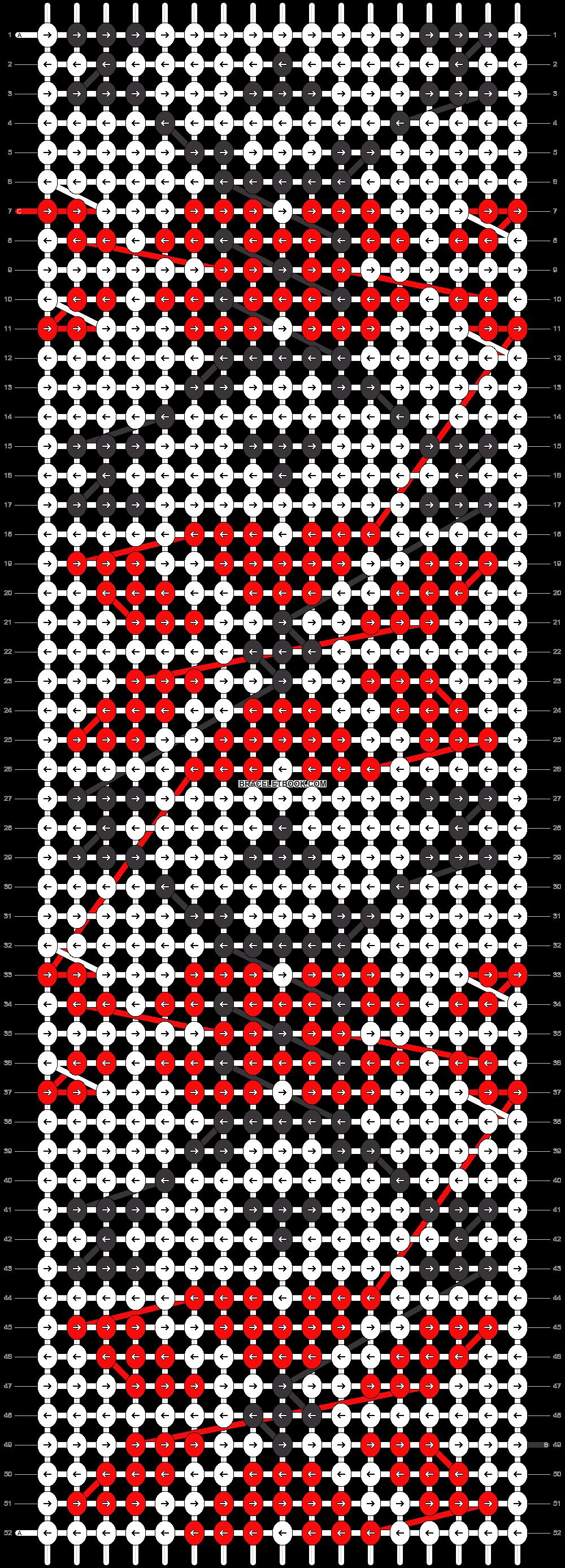 Alpha pattern #18125 pattern