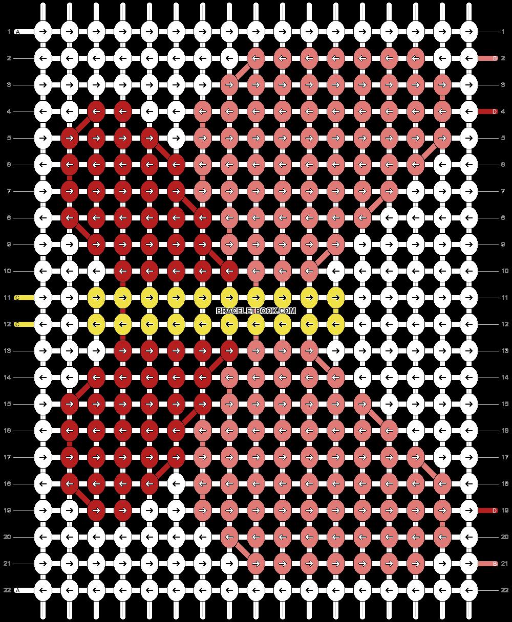 Alpha pattern #18129 pattern