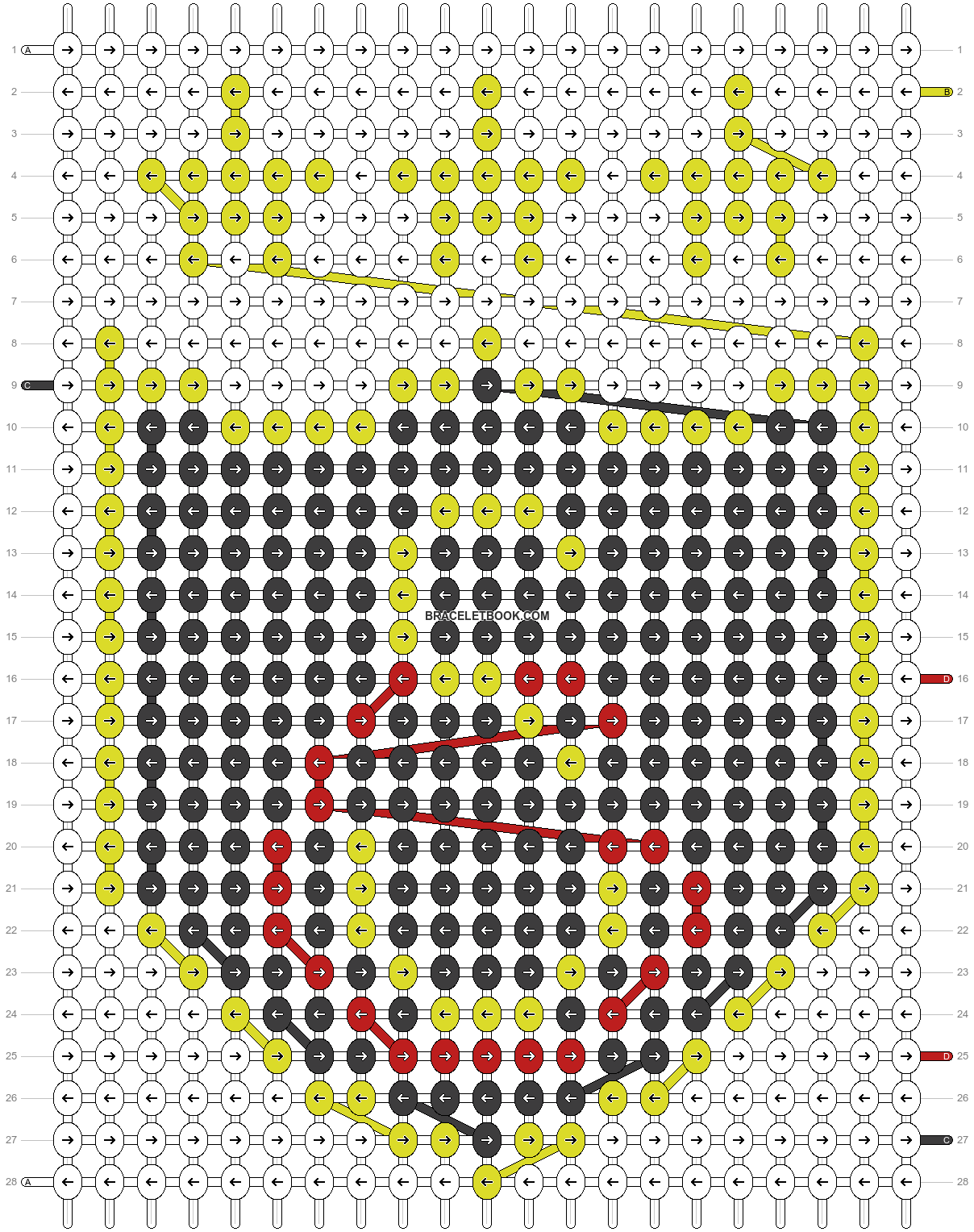 Alpha pattern #18130 pattern