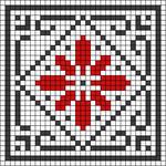 Alpha pattern #18131