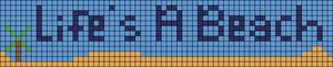 Alpha Friendship Bracelet Pattern #18135