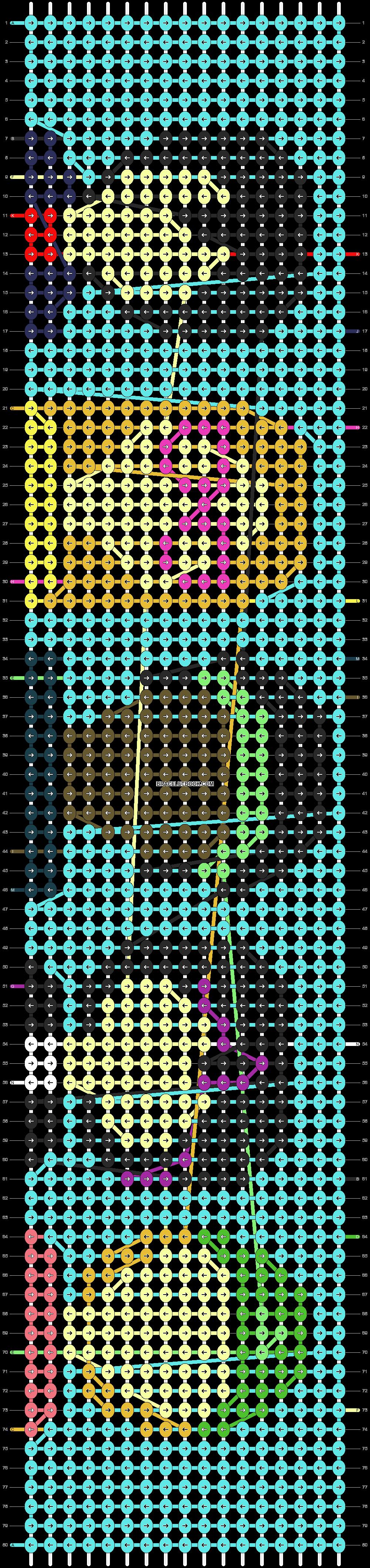 Alpha pattern #18144 pattern