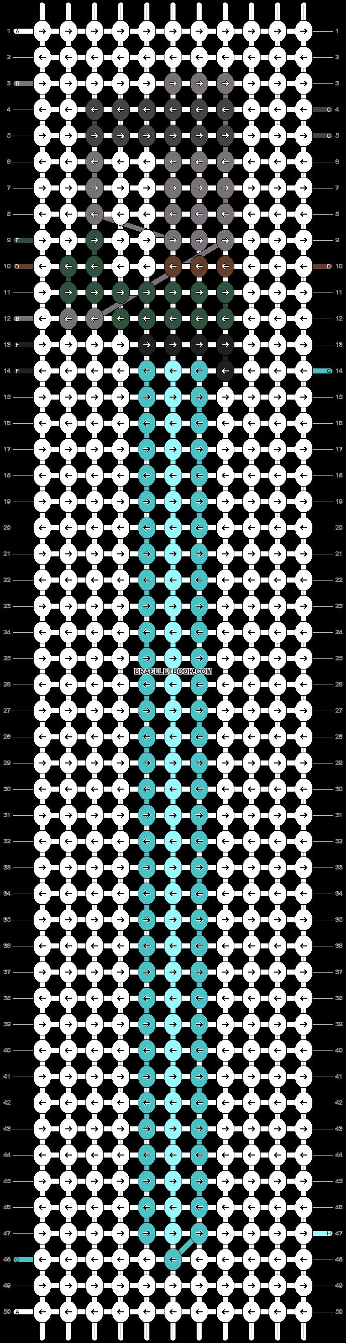 Alpha pattern #18146 pattern