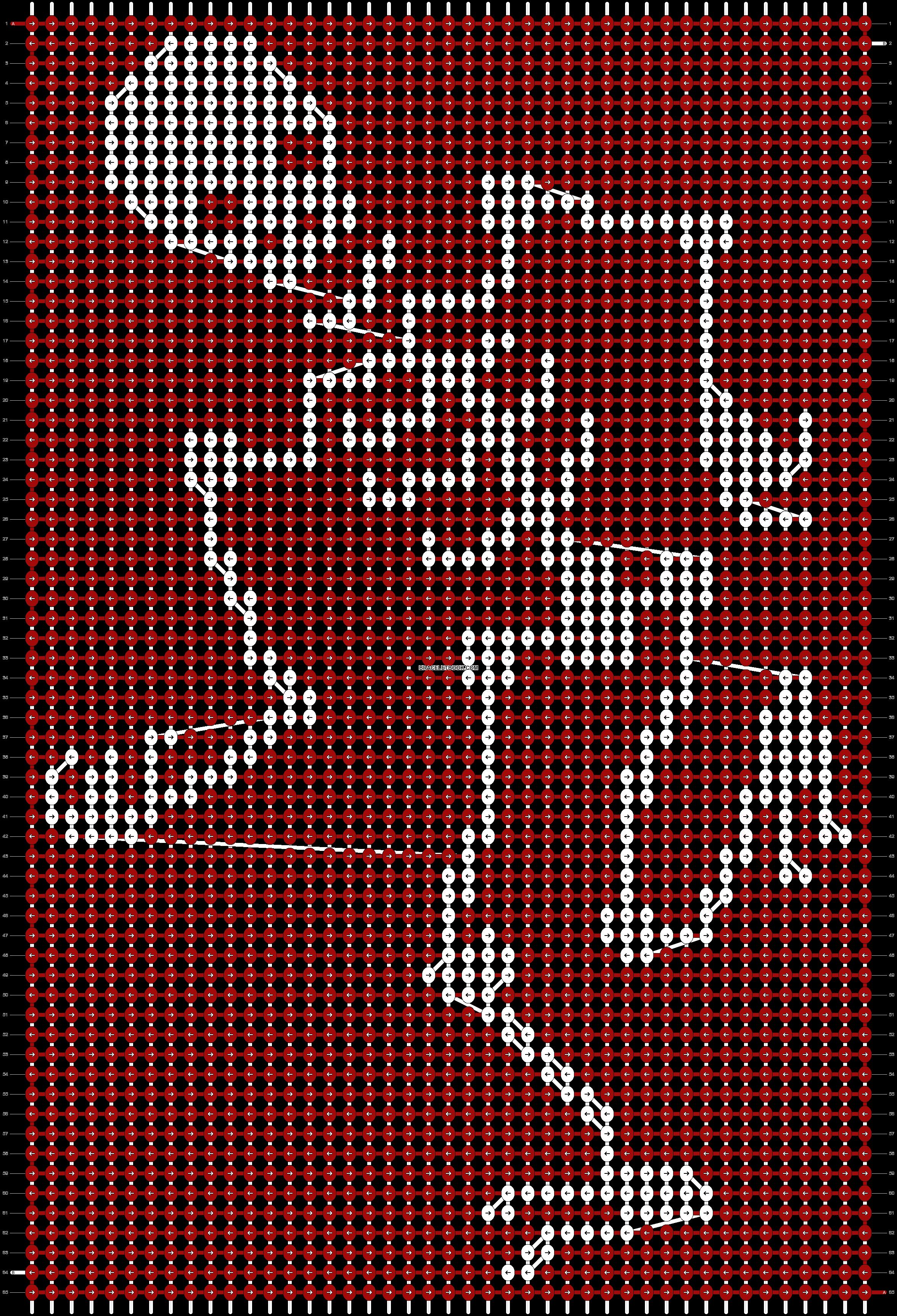 Alpha pattern #18150 pattern