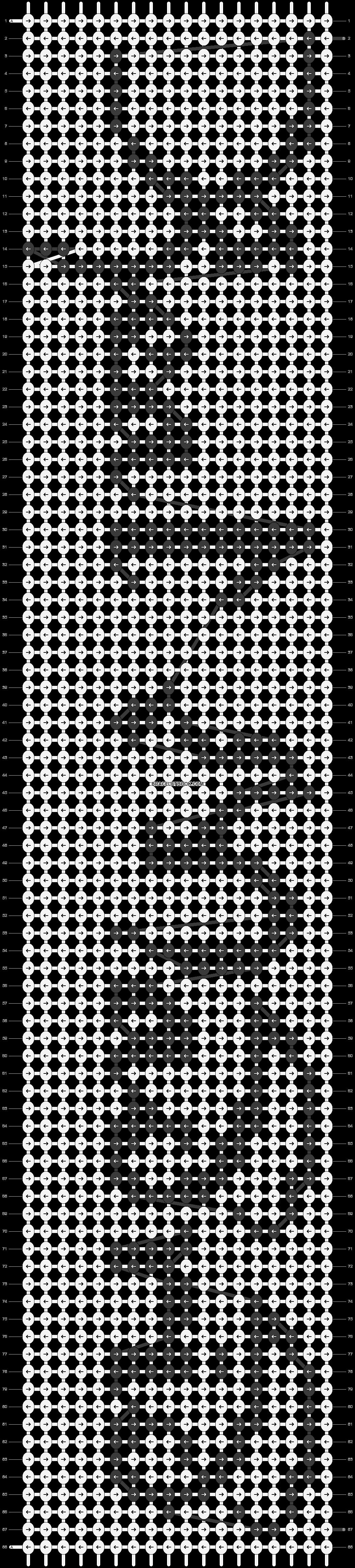 Alpha pattern #18152 pattern
