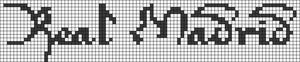 Alpha Friendship Bracelet Pattern #18152