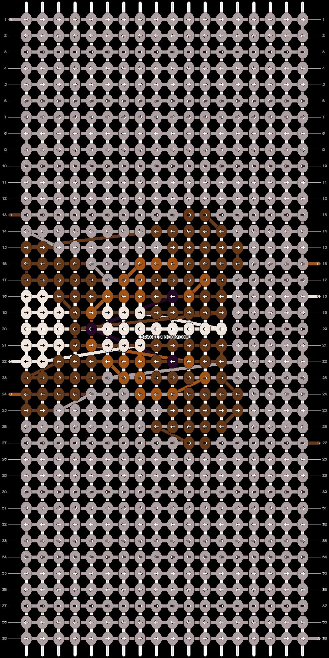 Alpha pattern #18153 pattern