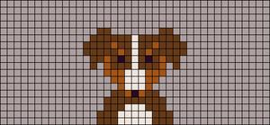 Alpha pattern #18153