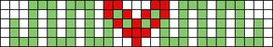 Alpha pattern #18155