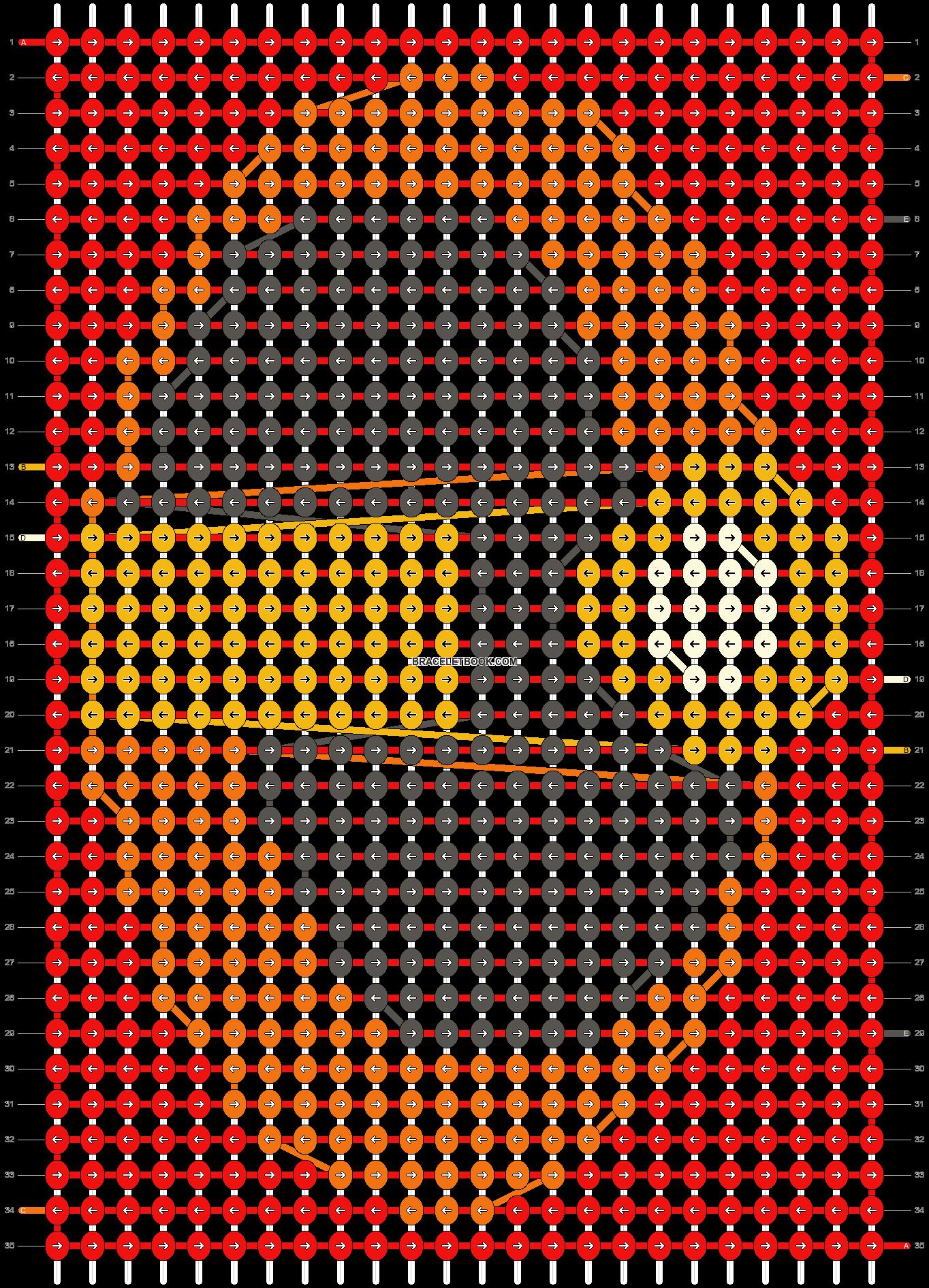Alpha pattern #18157 pattern