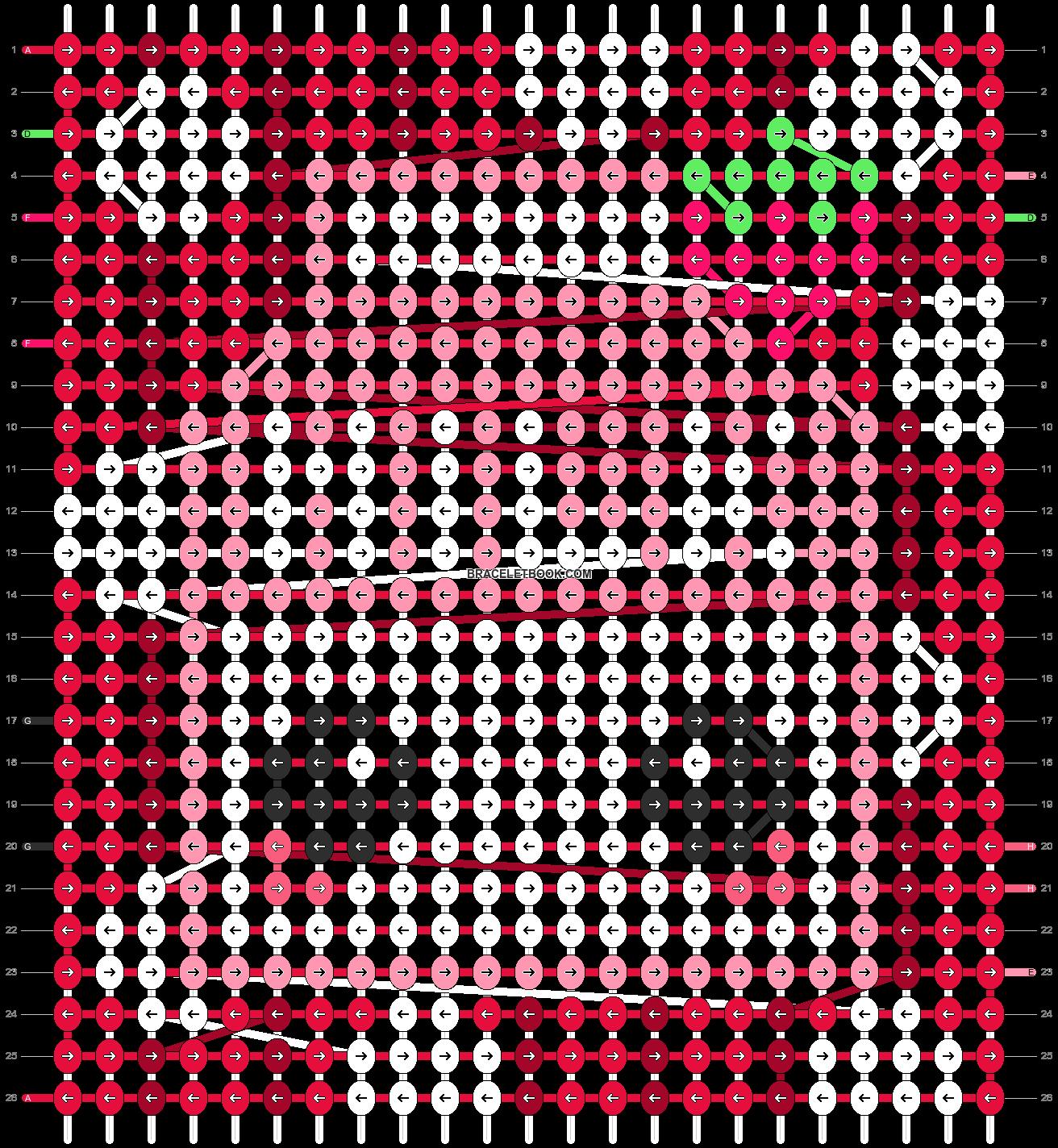 Alpha pattern #18166 pattern