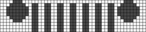 Alpha Friendship Bracelet Pattern #18167