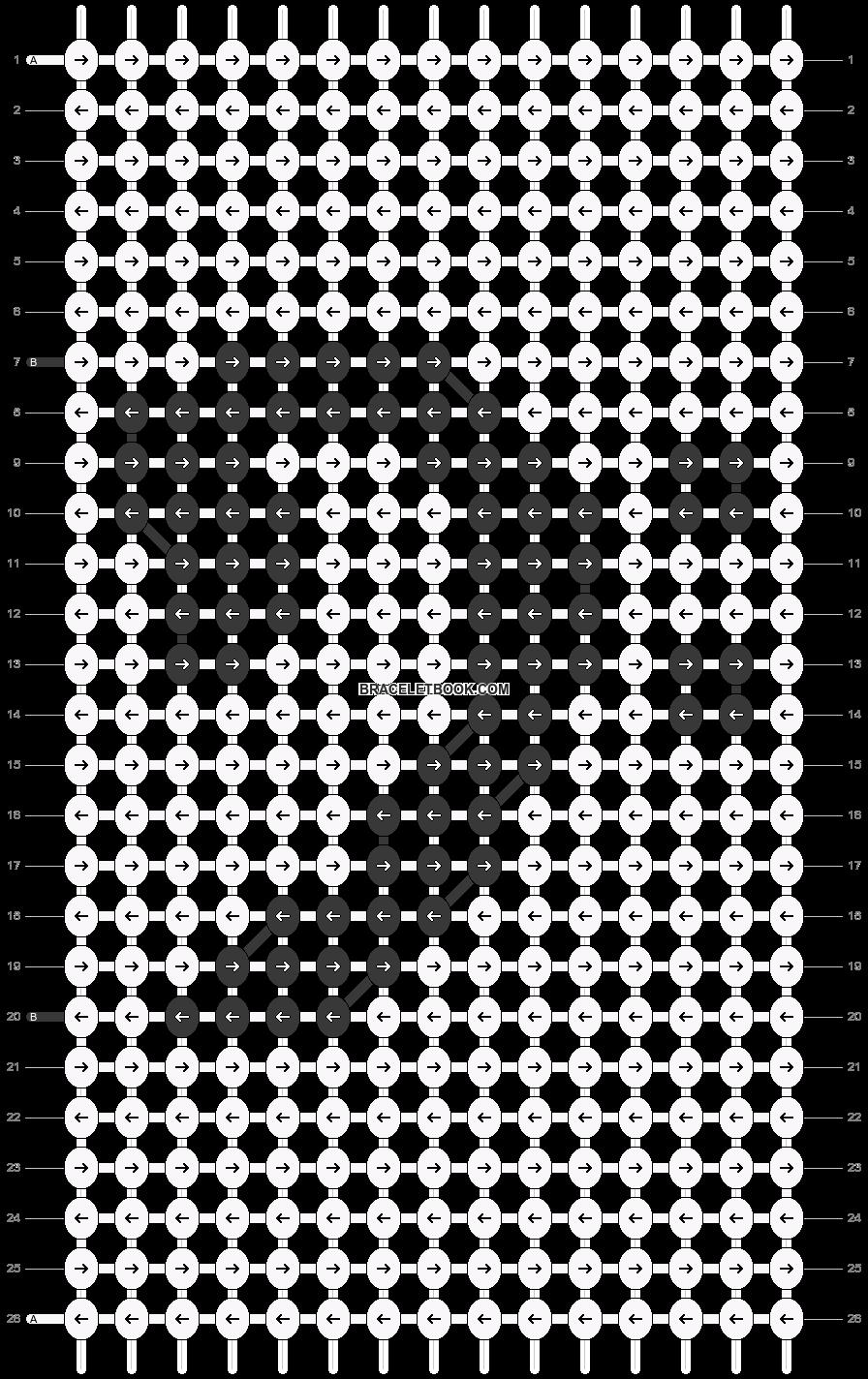Alpha pattern #18169 pattern
