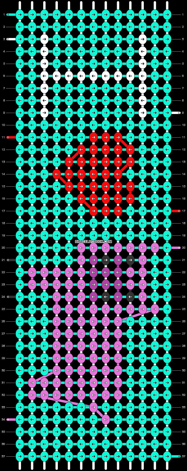 Alpha pattern #18174 pattern