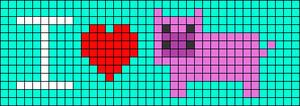 Alpha pattern #18174