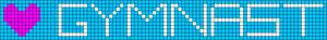 Alpha Friendship Bracelet Pattern #18175