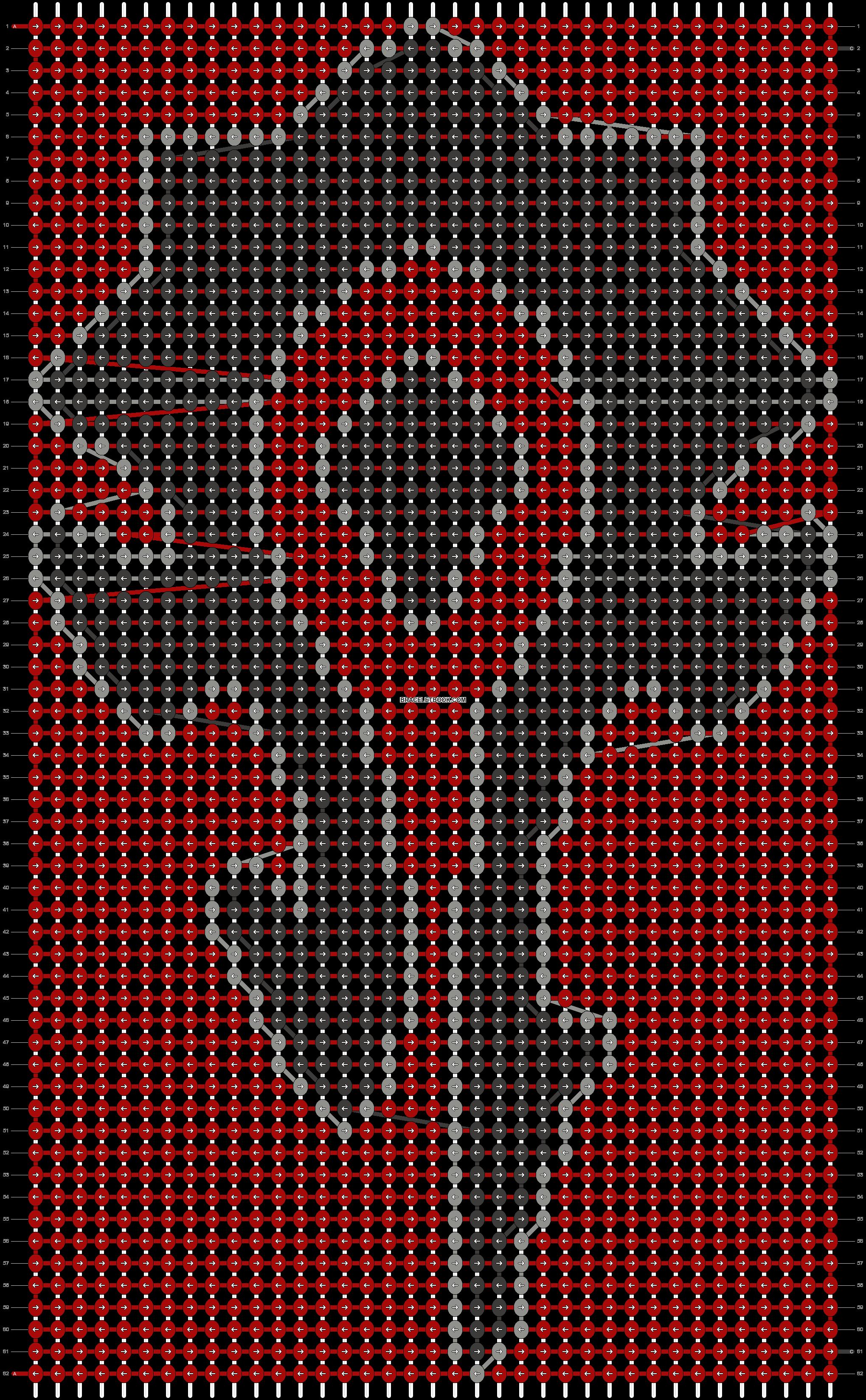 Alpha pattern #18184 pattern