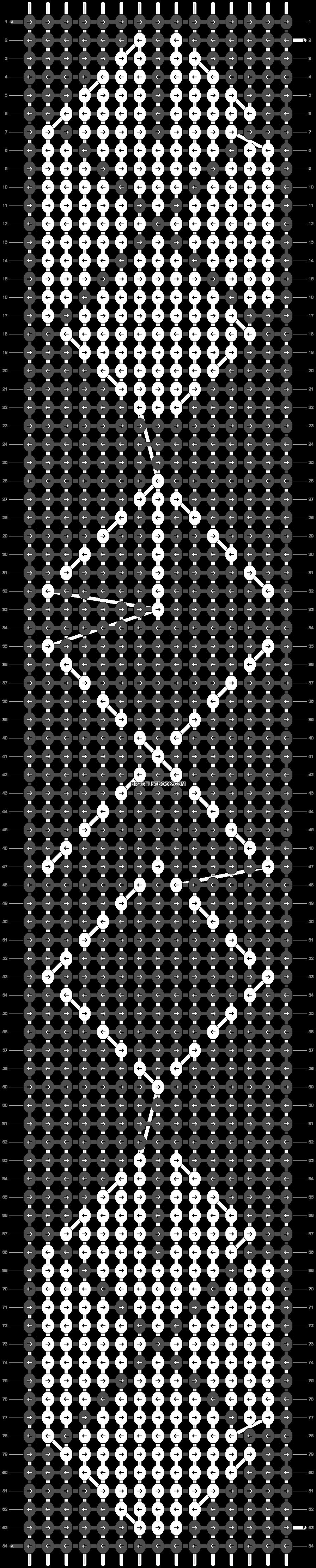 Alpha pattern #18186 pattern