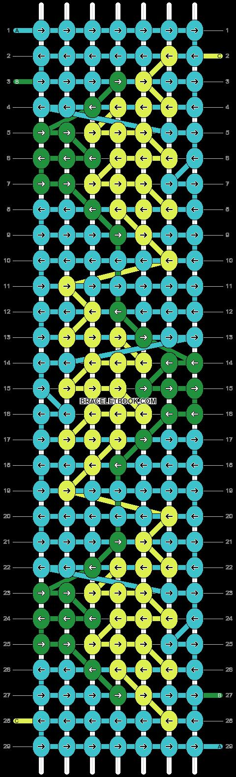 Alpha pattern #18187 pattern