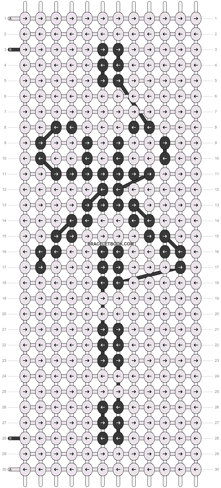Alpha pattern #18197 pattern
