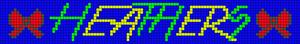 Alpha pattern #18203