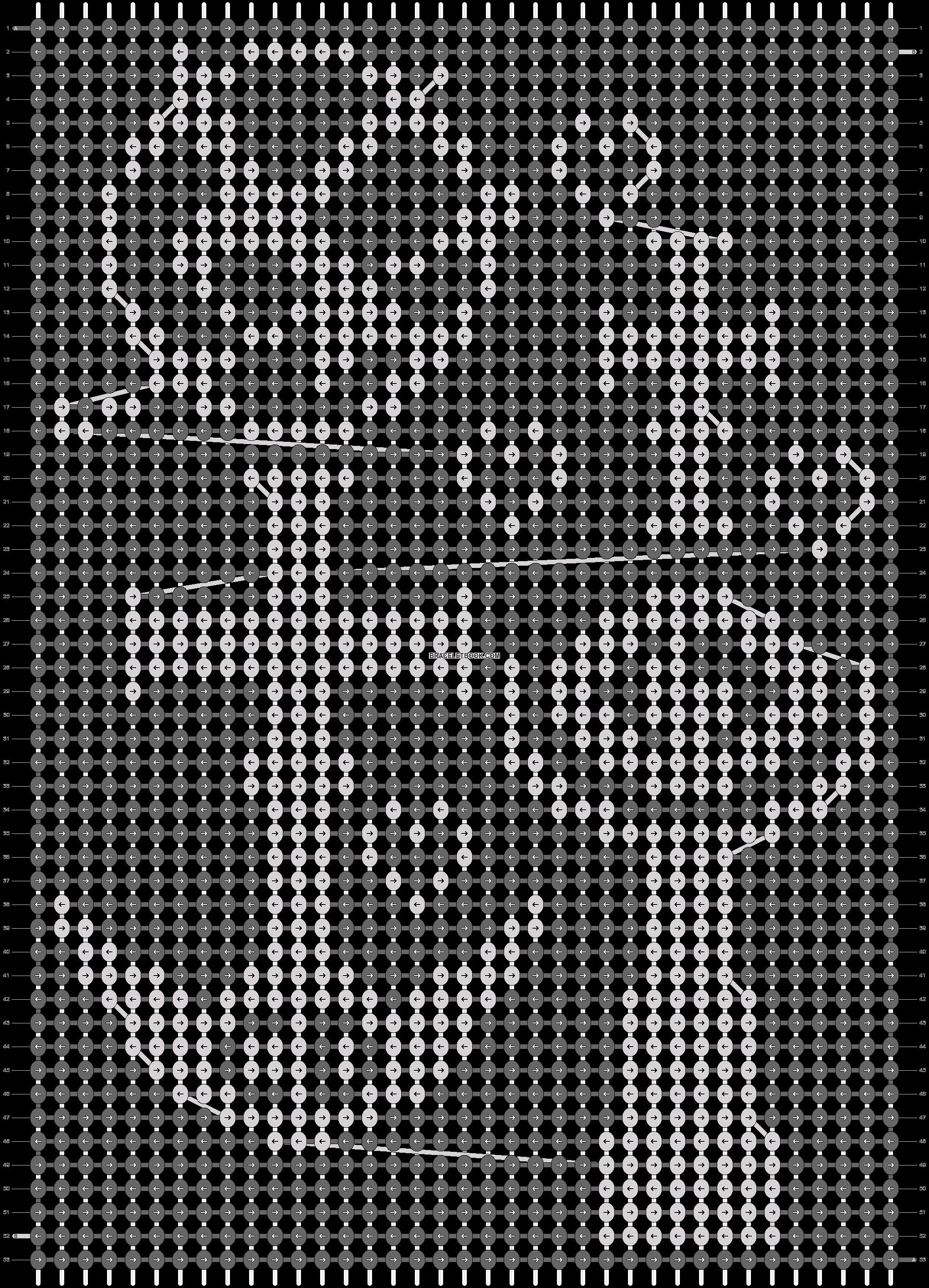 Alpha pattern #18208 pattern