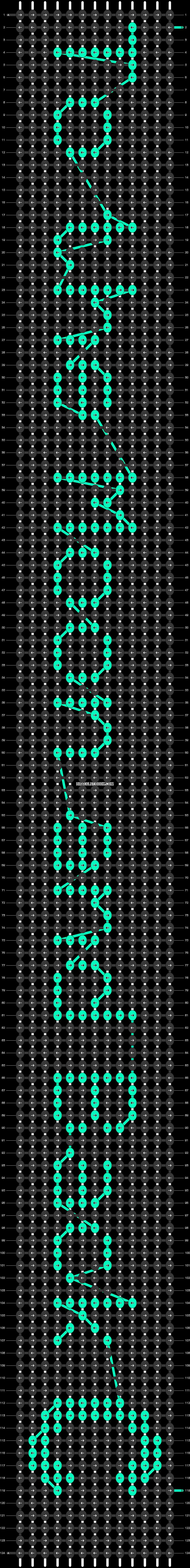 Alpha pattern #18209 pattern