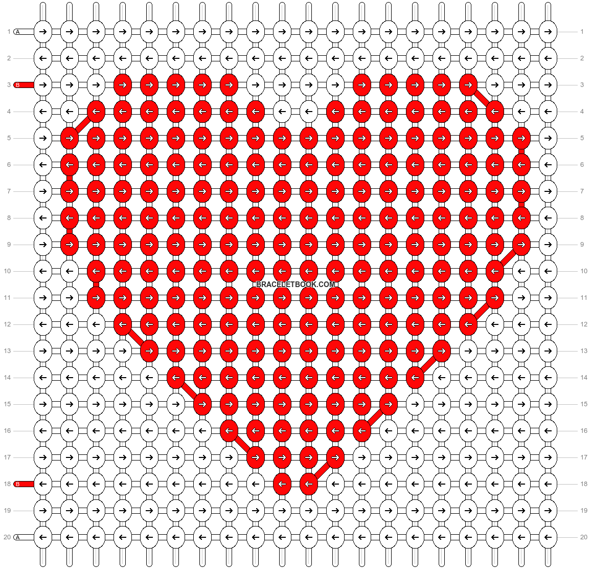 Alpha pattern #18211 pattern