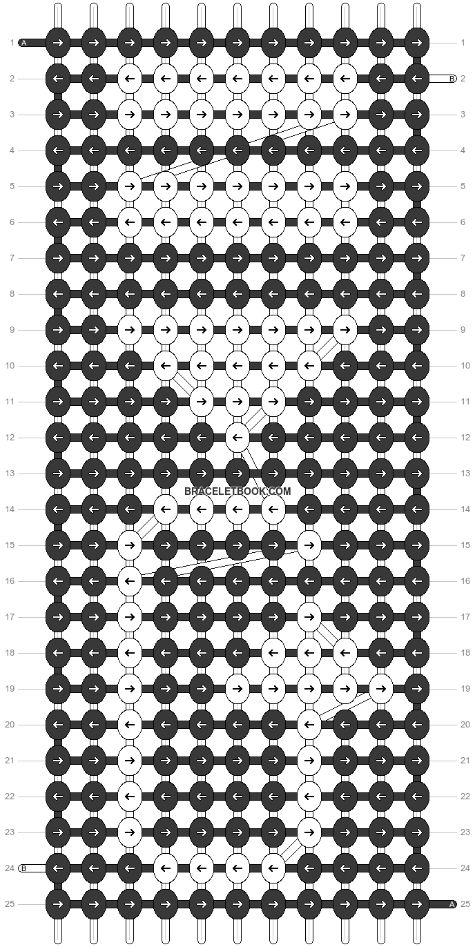 Alpha pattern #18219 pattern