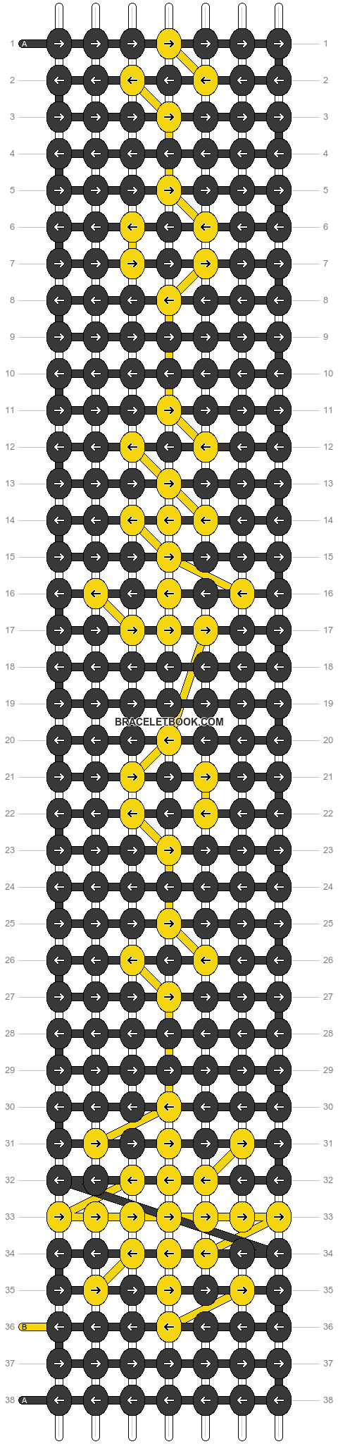 Alpha pattern #18220 pattern