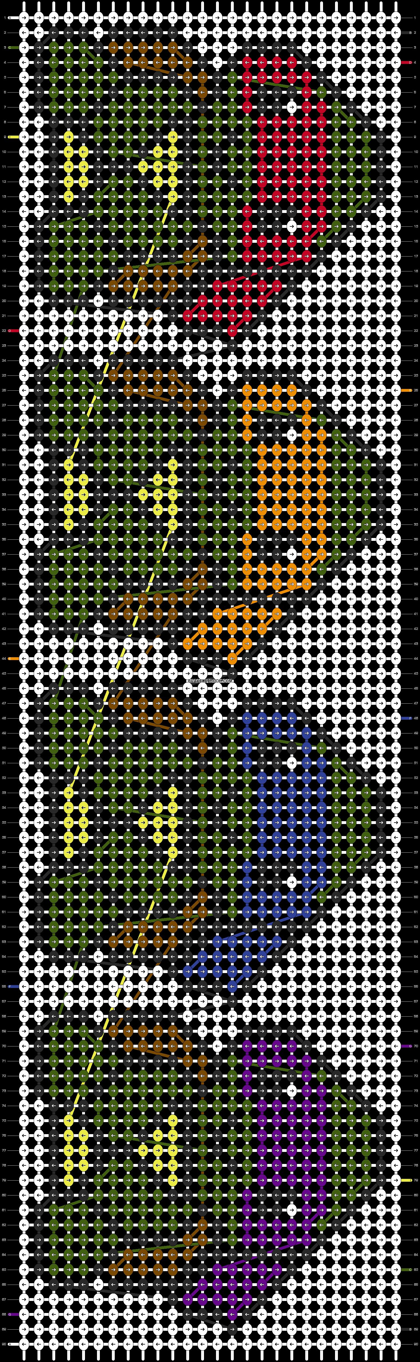 Alpha pattern #18221 pattern