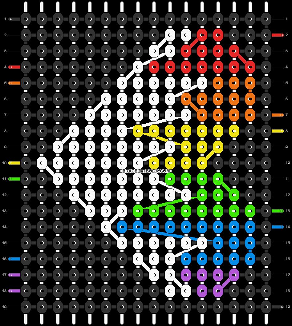 Alpha pattern #18222 pattern