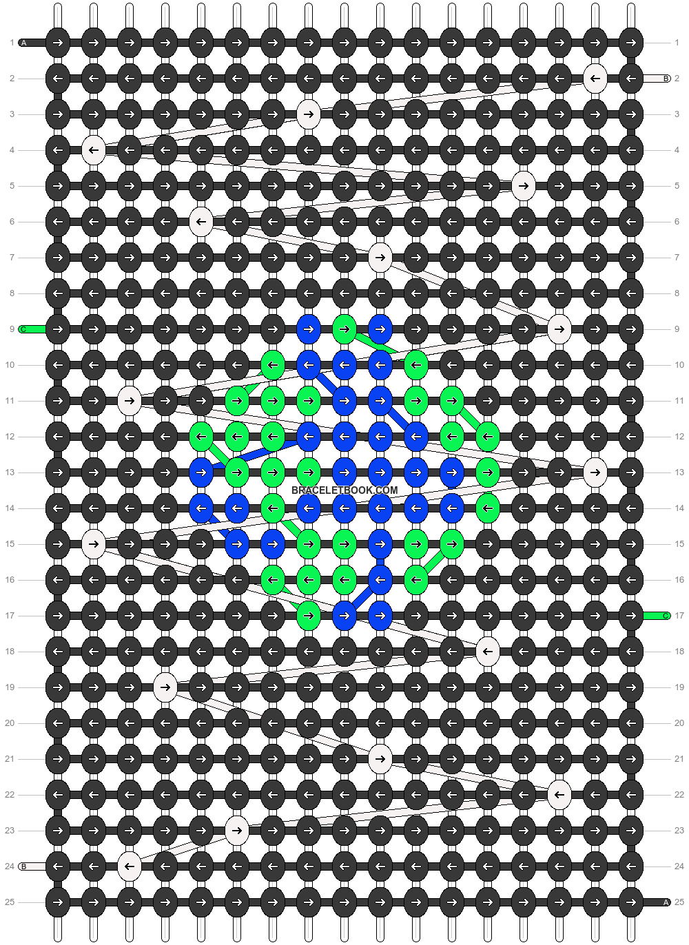 Alpha pattern #18223 pattern